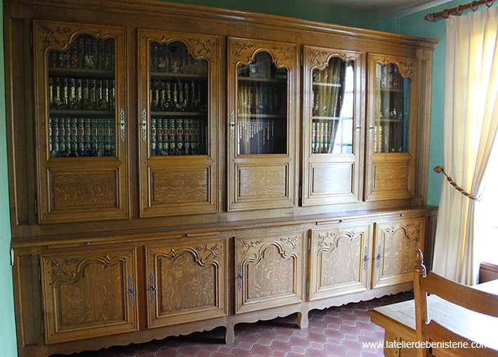 Bibliotheques - Meuble bibliotheque vitree ...