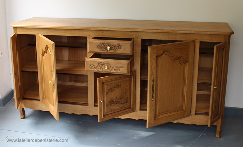 Sideboard open