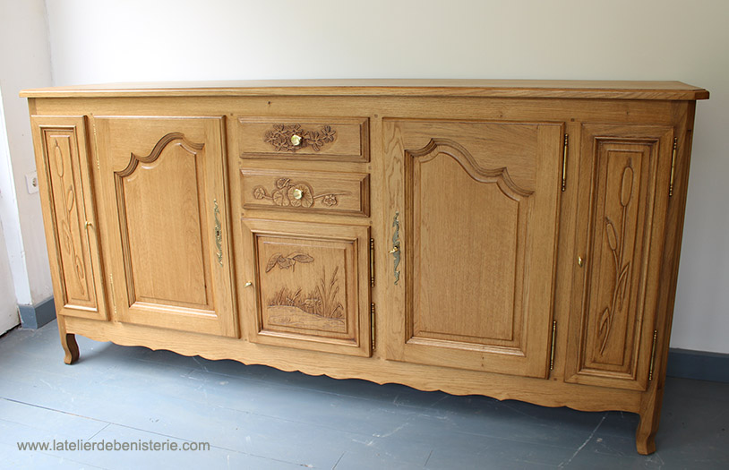 Sideboard of marshes decors