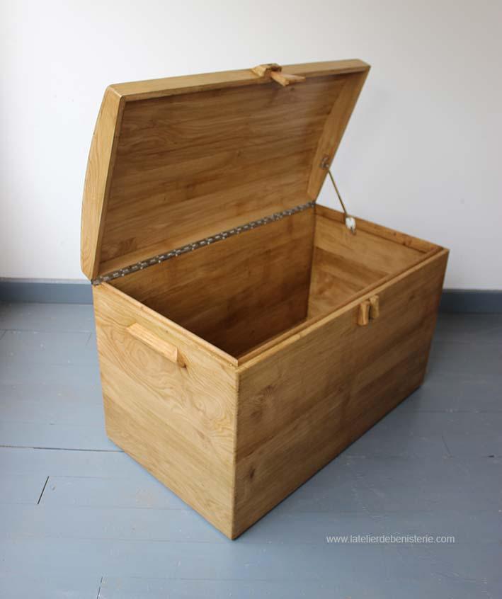 Coffre Malle en bois