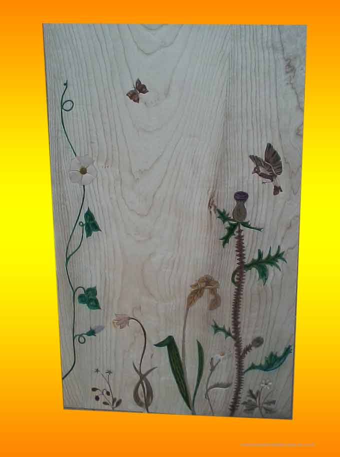 vegetal ornements inlaid