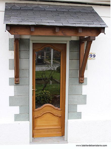 Fabrication portes sur mesure for Porte entree 60